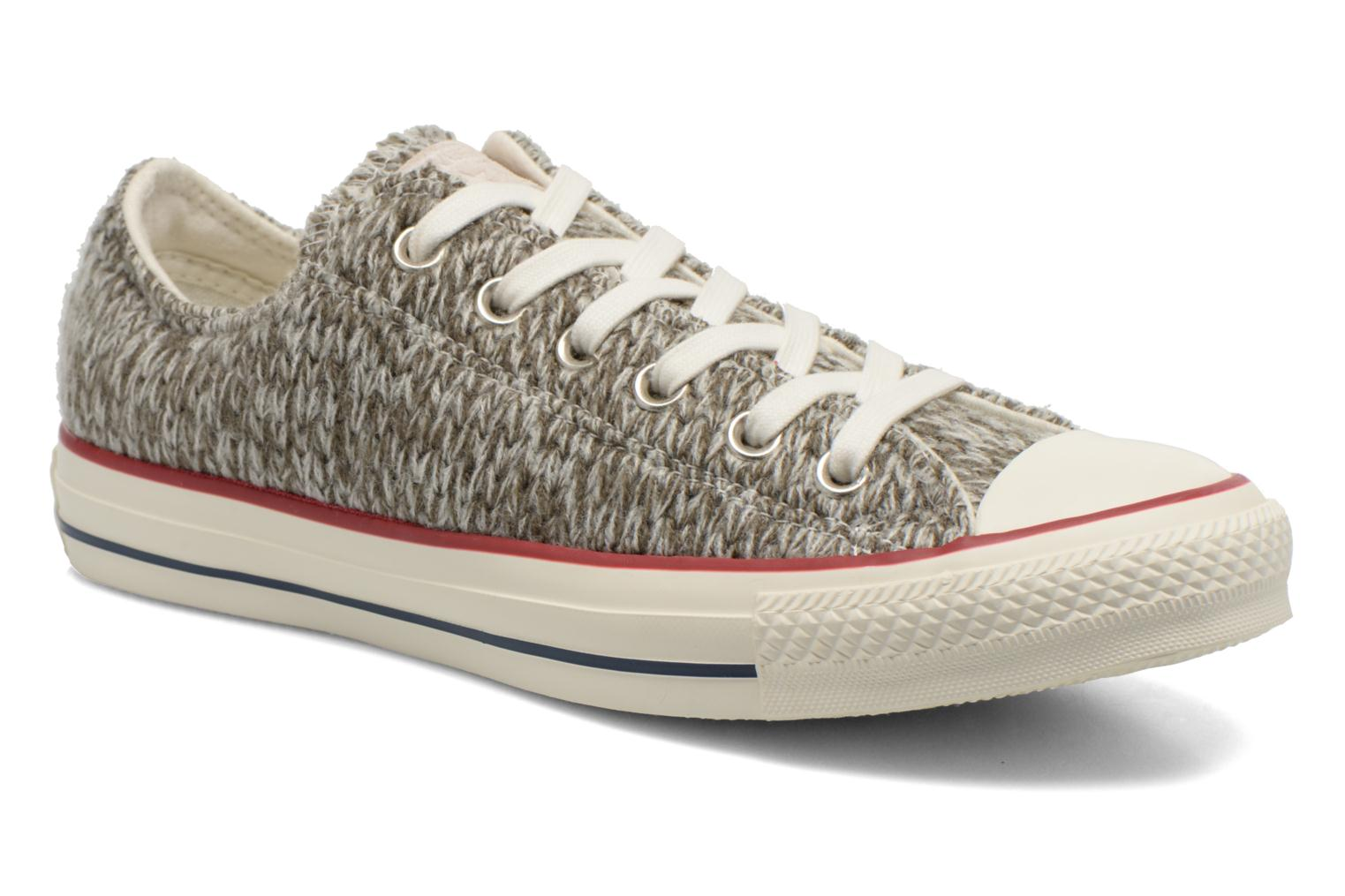 Chuck Taylor All Star Ox Knit W Charcoal/Egret