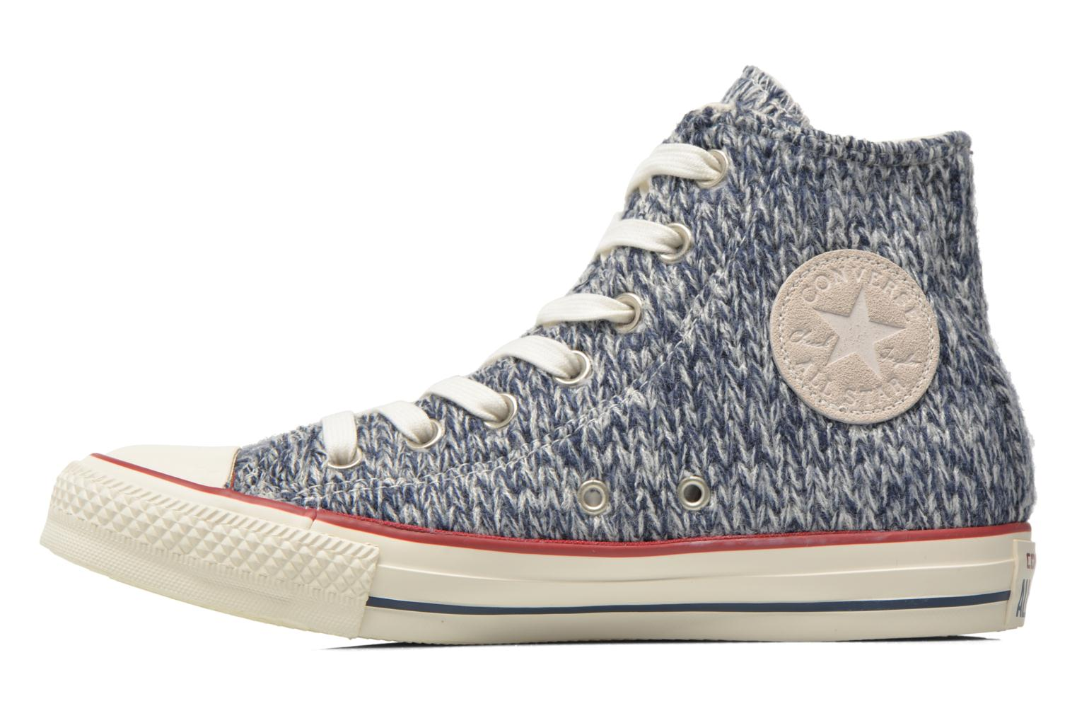 Trainers Converse Chuck Taylor All Star Hi Knit W Blue front view
