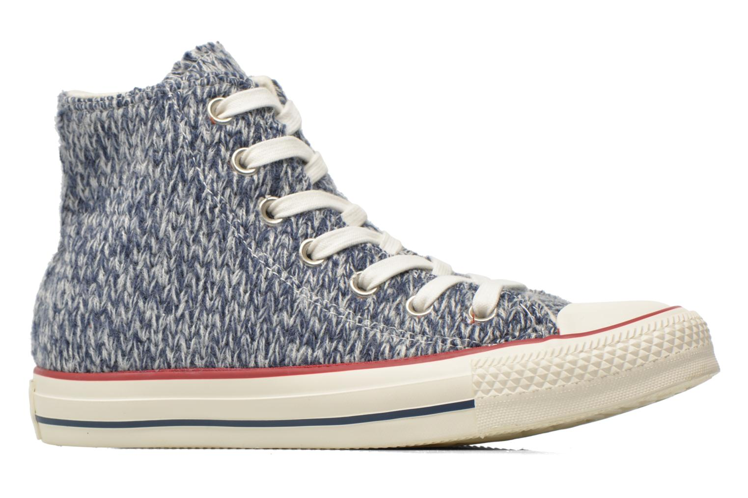 Trainers Converse Chuck Taylor All Star Hi Knit W Blue back view