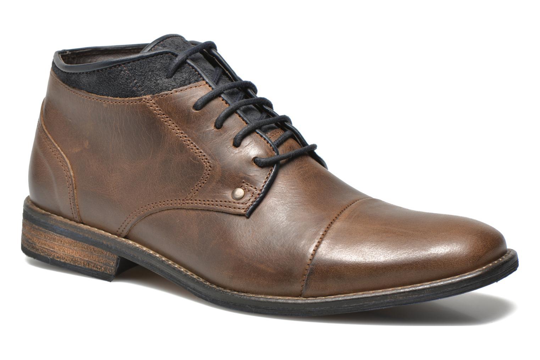 Bottines et boots Mr SARENZA Walboots Marron vue derrière
