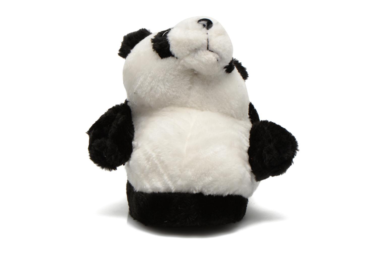 Pantuflas Sleeperz Pandas 2 Negro vista del modelo