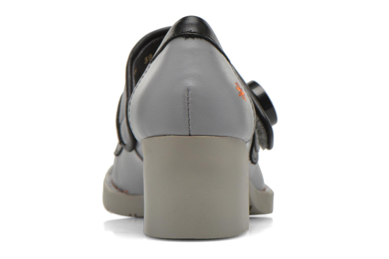 Zapatos de tacón Art Bristol 89 Gris vista lateral derecha
