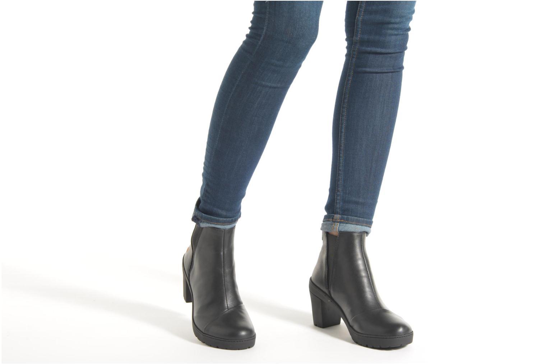 Bottines et boots Art Travel 366 Noir vue bas / vue portée sac