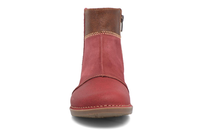 Bottines et boots Art Bergen 849 Rouge vue portées chaussures