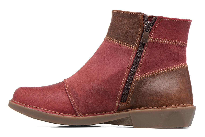 Bottines et boots Art Bergen 849 Rouge vue face