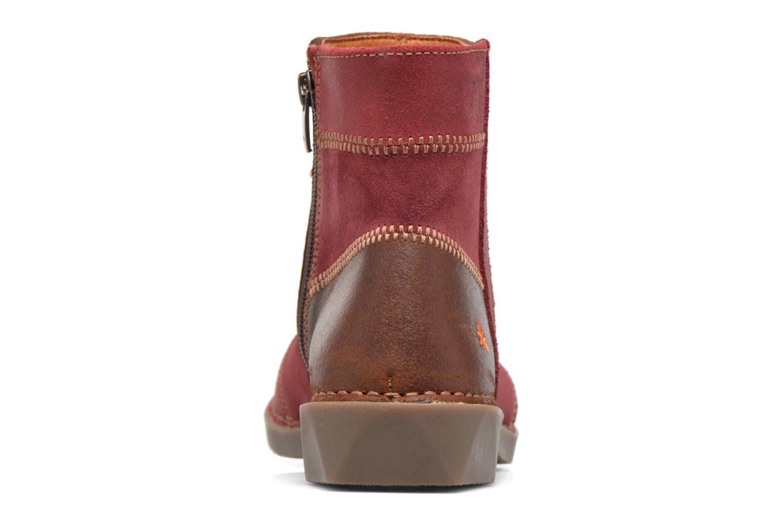 Bottines et boots Art Bergen 849 Rouge vue droite