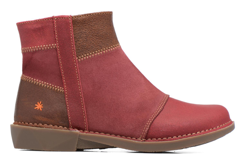 Stiefeletten & Boots Art Bergen 849 rot ansicht von hinten