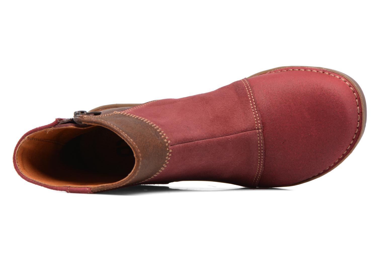 Stiefeletten & Boots Art Bergen 849 rot ansicht von links