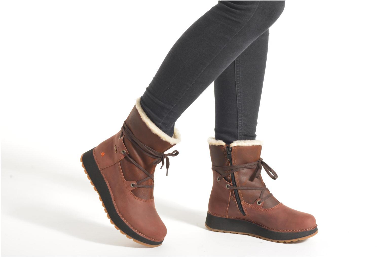 Bottines et boots Art Heathrow 1024 Marron vue bas / vue portée sac