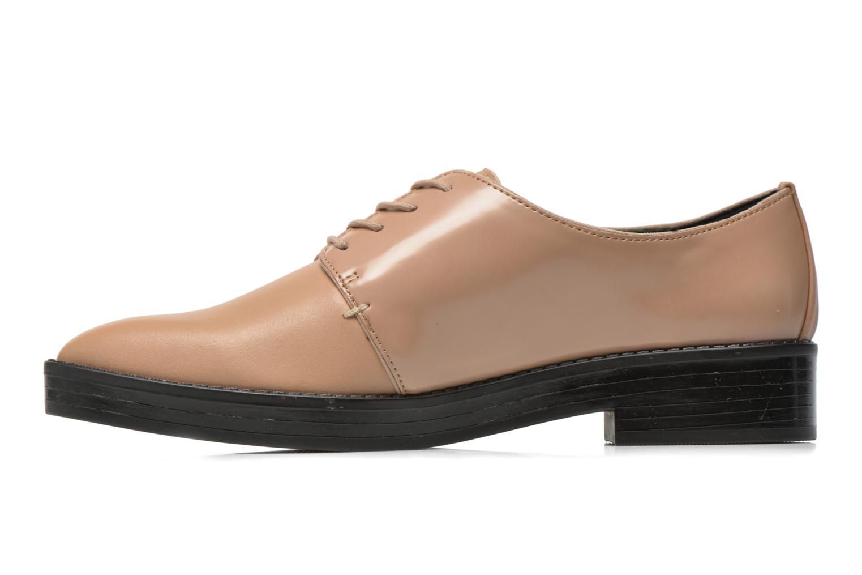 Zapatos con cordones Aldo Monnacco Beige vista de frente