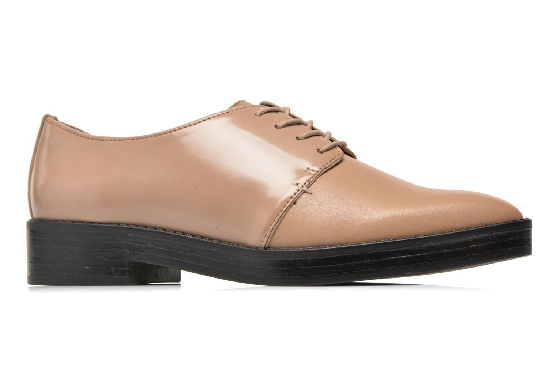 Zapatos con cordones Aldo Monnacco Beige vistra trasera