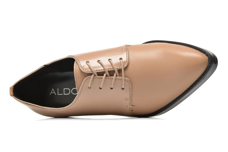 Zapatos con cordones Aldo Monnacco Beige vista lateral izquierda