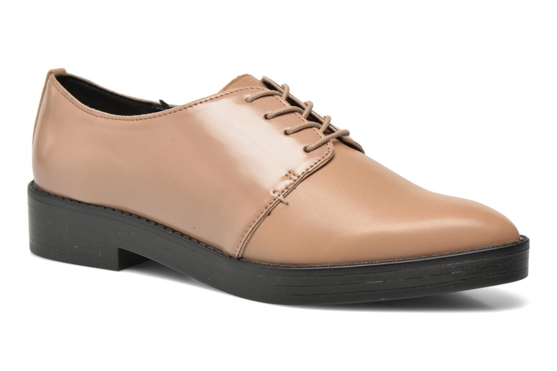Chaussures à lacets Aldo Monnacco Beige vue détail/paire