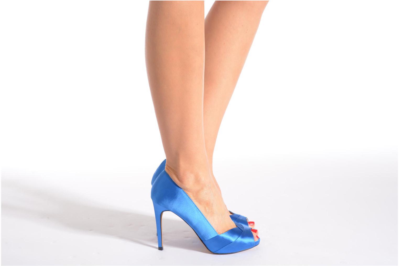 Zapatos de tacón Aldo Scibilia Azul vista de abajo