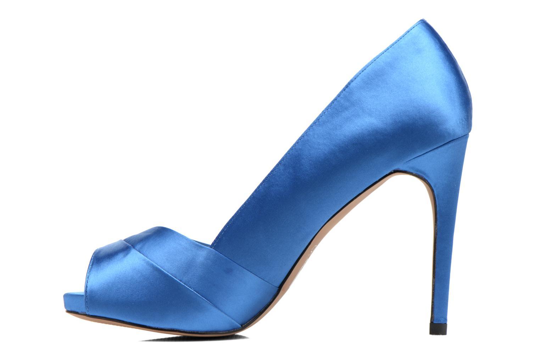Zapatos de tacón Aldo Scibilia Azul vista de frente