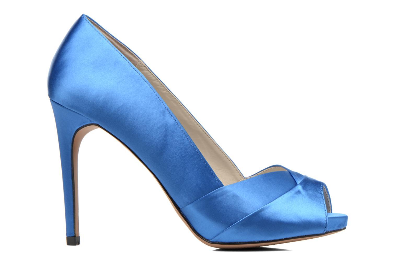 Zapatos de tacón Aldo Scibilia Azul vistra trasera