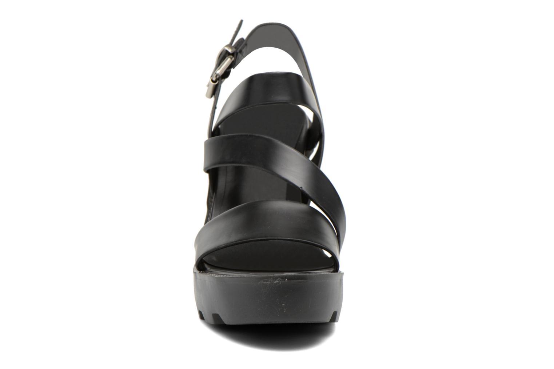 Sandales et nu-pieds Aldo Briody Noir vue portées chaussures
