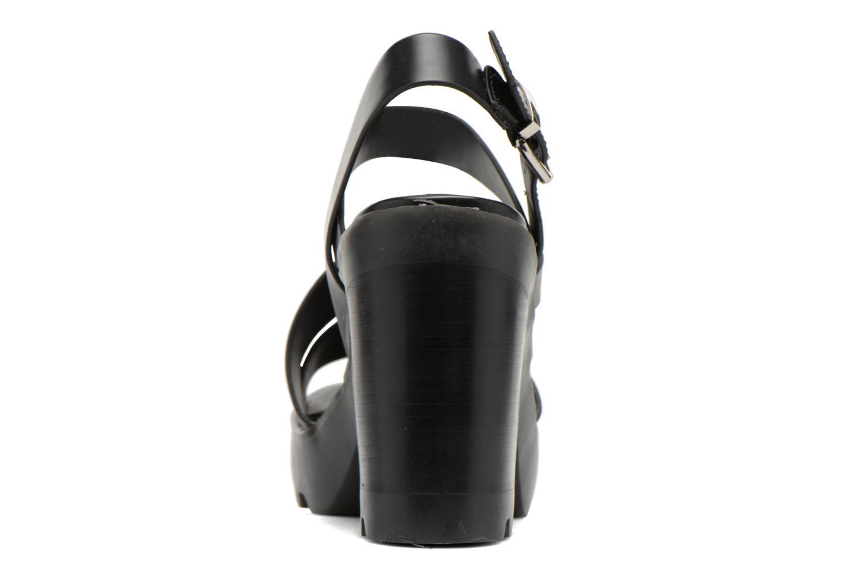 Sandales et nu-pieds Aldo Briody Noir vue droite