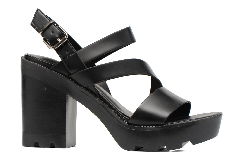 Sandales et nu-pieds Aldo Briody Noir vue derrière