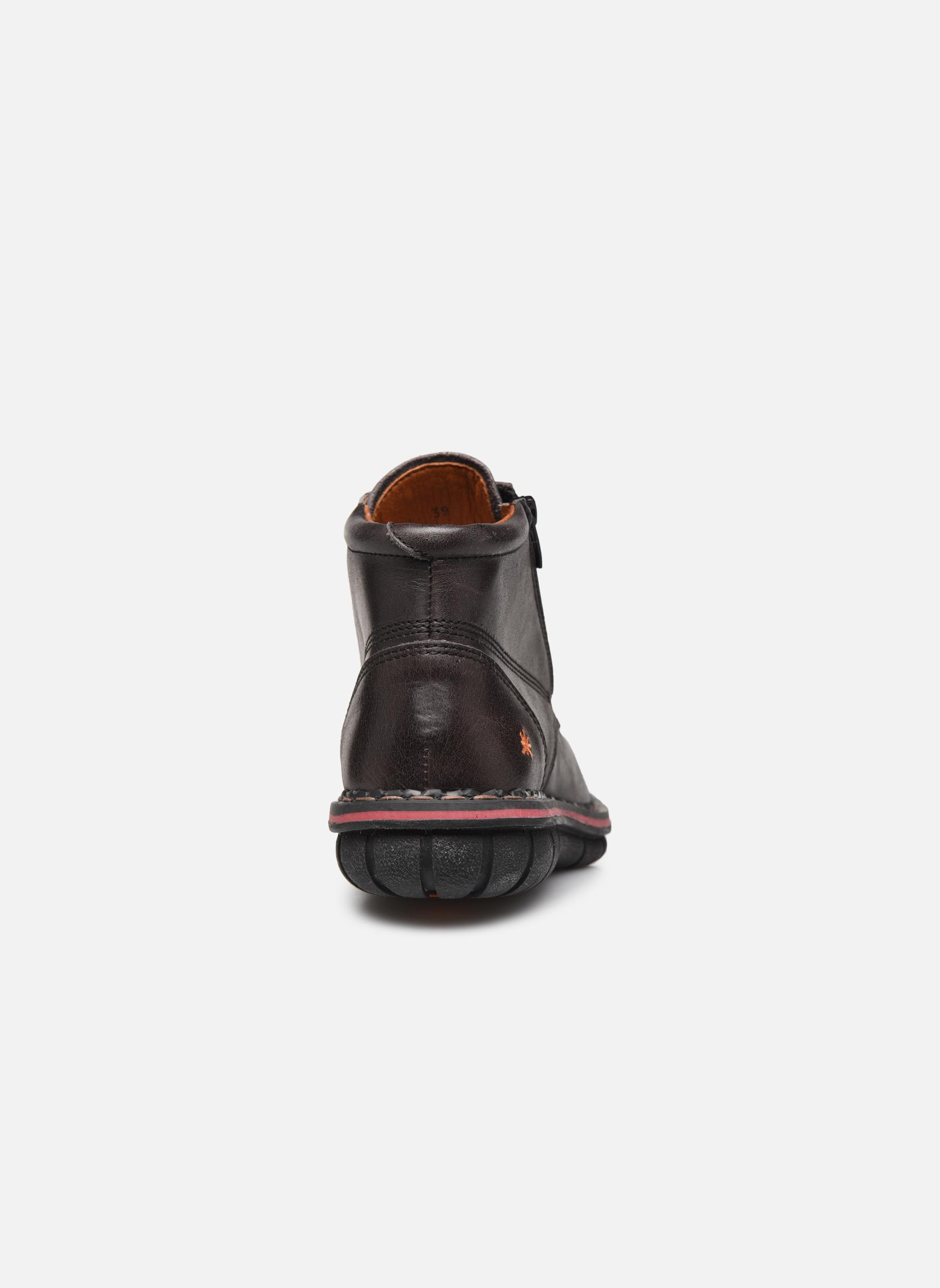 Chaussures à lacets Art Assen 434 Noir vue droite