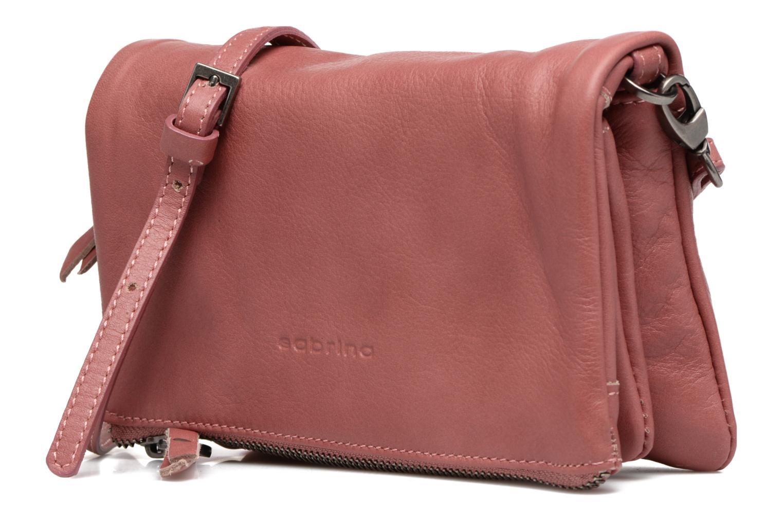 Mini Bags Sabrina Leontine rosa schuhe getragen