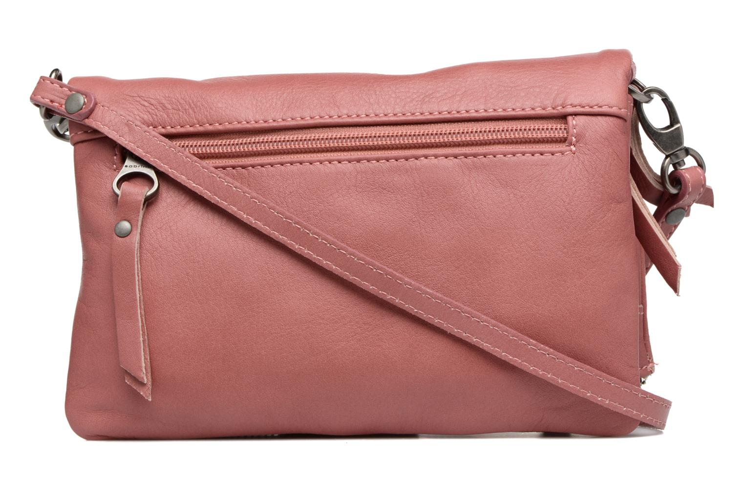 Clutch bags Sabrina Leontine Pink front view