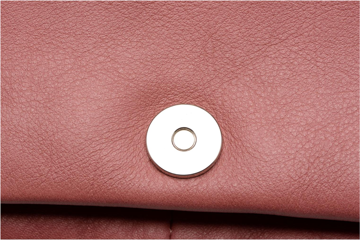 Clutch bags Sabrina Leontine Pink view from the left