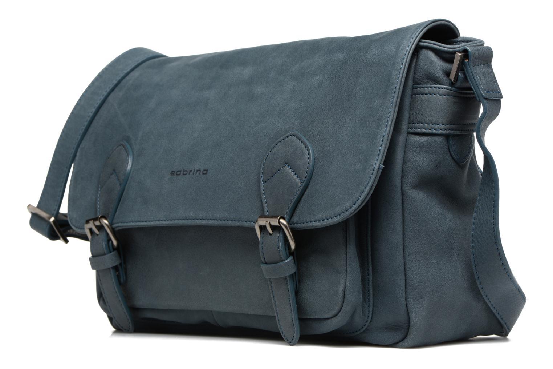Handtaschen Sabrina Victoria blau schuhe getragen