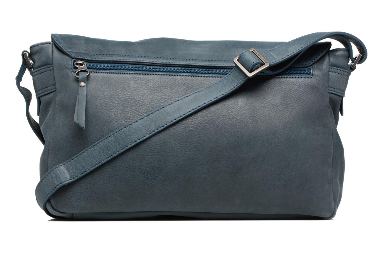 Handtaschen Sabrina Victoria blau ansicht von vorne