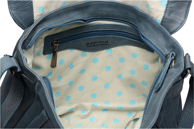Handtaschen Sabrina Victoria blau ansicht von hinten