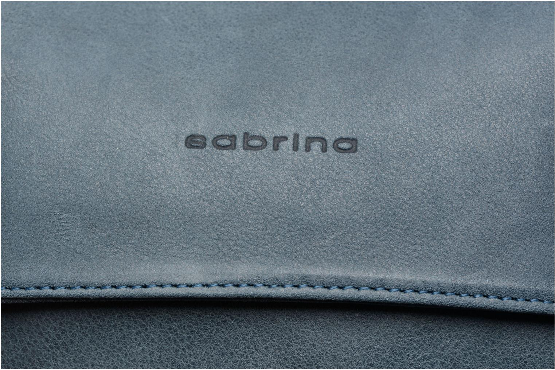 Handtaschen Sabrina Victoria blau ansicht von links