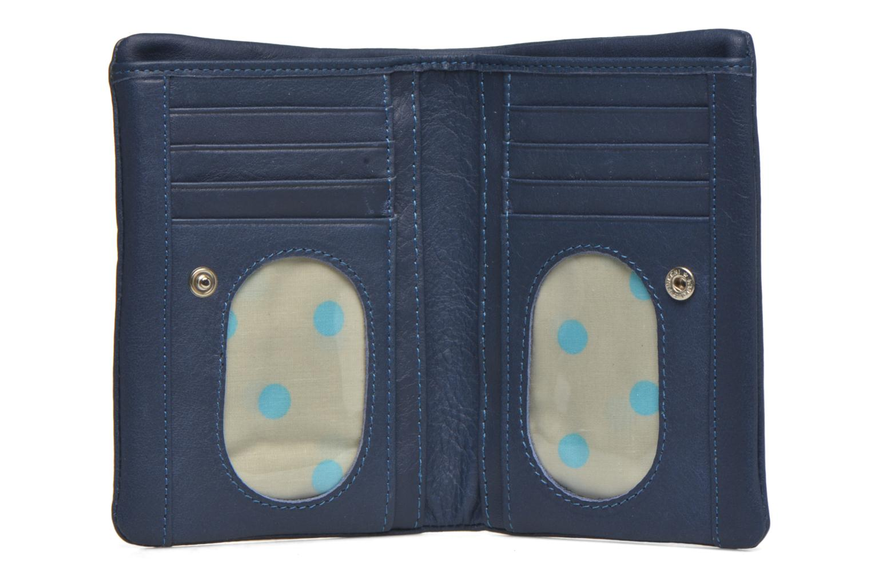 Portemonnaies & Clutches Sabrina Ninon blau ansicht von links