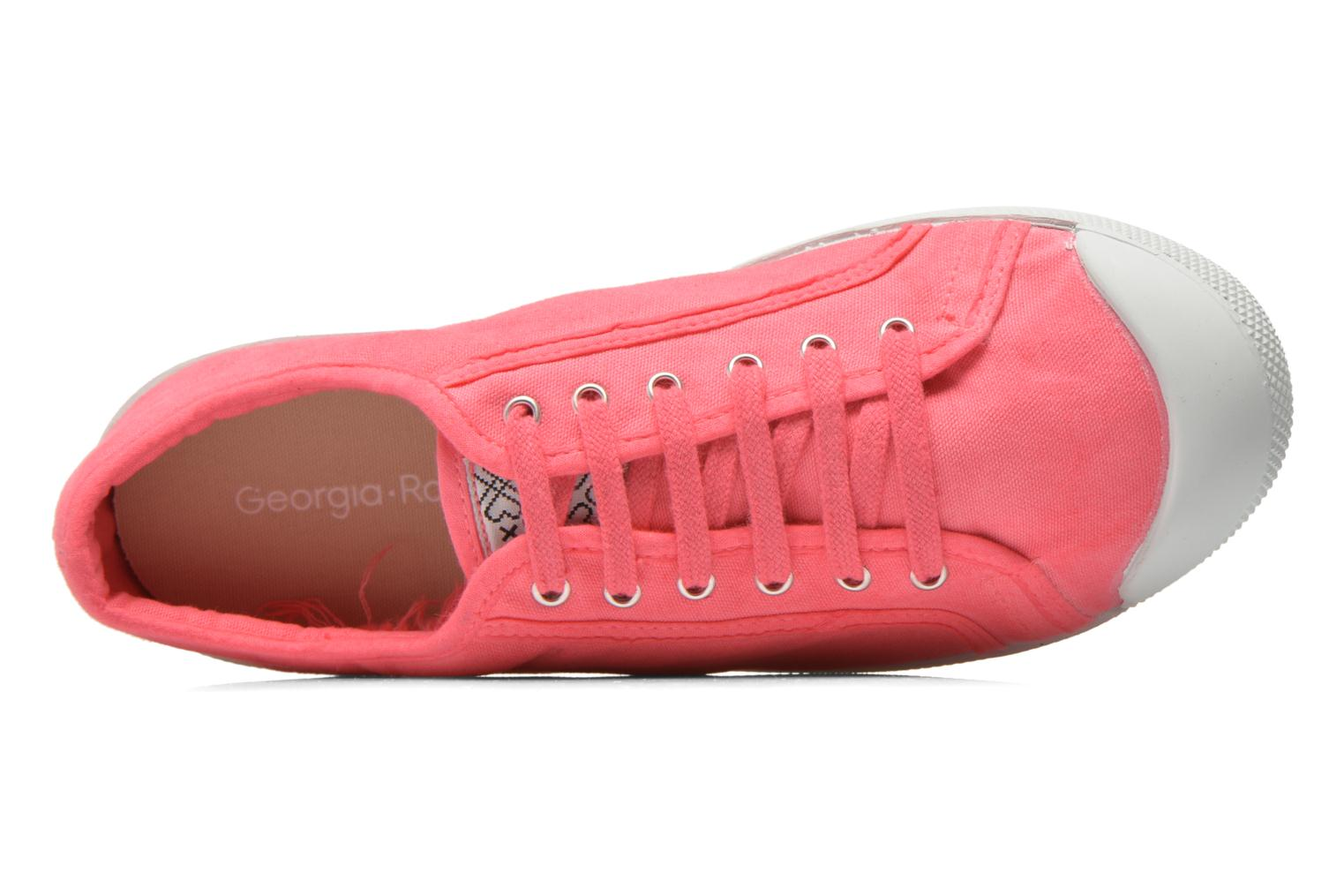 Trainers Georgia Rose Mamine Pink view from the left