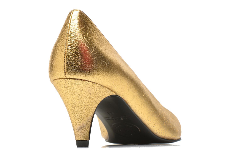 Pumps Made by SARENZA Glossy Cindy #9 gold/bronze schuhe getragen