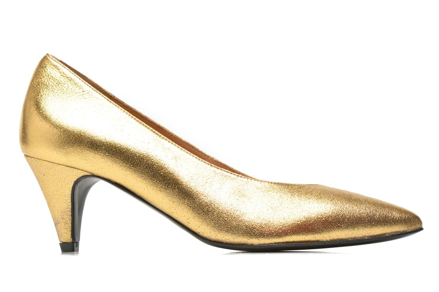 High heels Made by SARENZA Glossy Cindy #9 Bronze and Gold detailed view/ Pair view