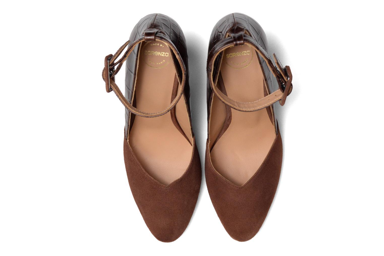 Escarpins Made by SARENZA My Talon Is Rich #5 Marron vue portées chaussures