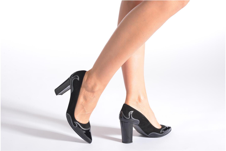 Zapatos de tacón Made by SARENZA Glossy Cindy #2 Negro vista de abajo