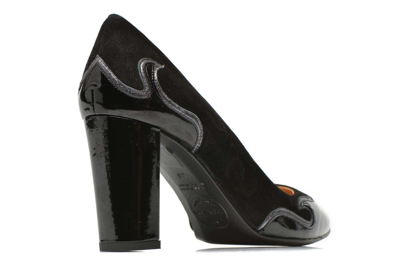 Zapatos de tacón Made by SARENZA Glossy Cindy #2 Negro vista del modelo