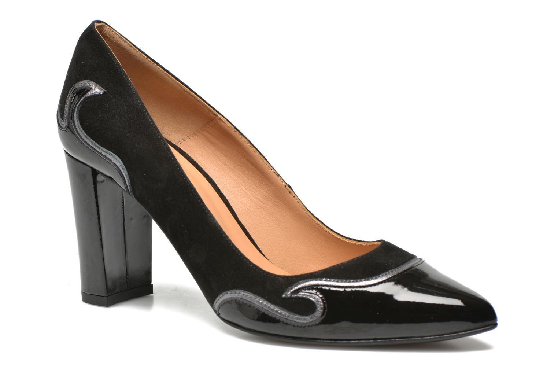 Zapatos de tacón Made by SARENZA Glossy Cindy #2 Negro vista de frente