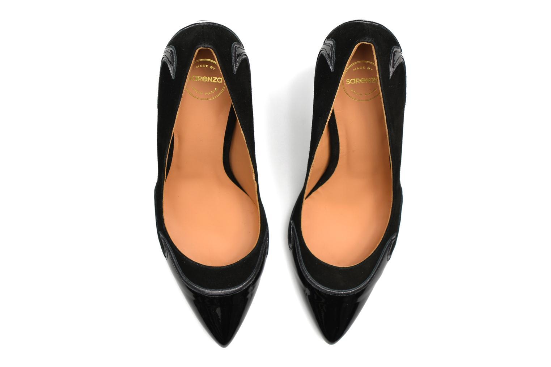 Zapatos de tacón Made by SARENZA Glossy Cindy #2 Negro vista de arriba