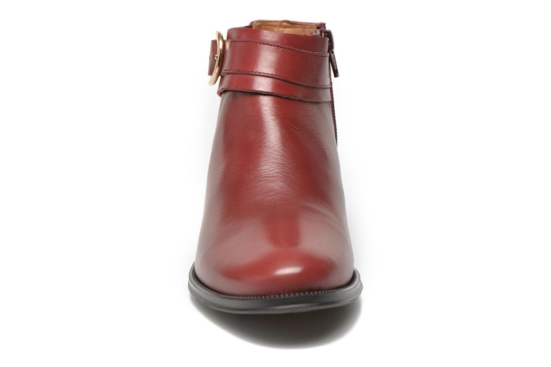 Bottines et boots Georgia Rose Eperdreau Bordeaux vue portées chaussures