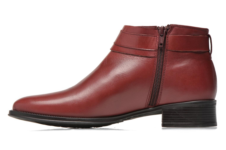 Bottines et boots Georgia Rose Eperdreau Bordeaux vue face