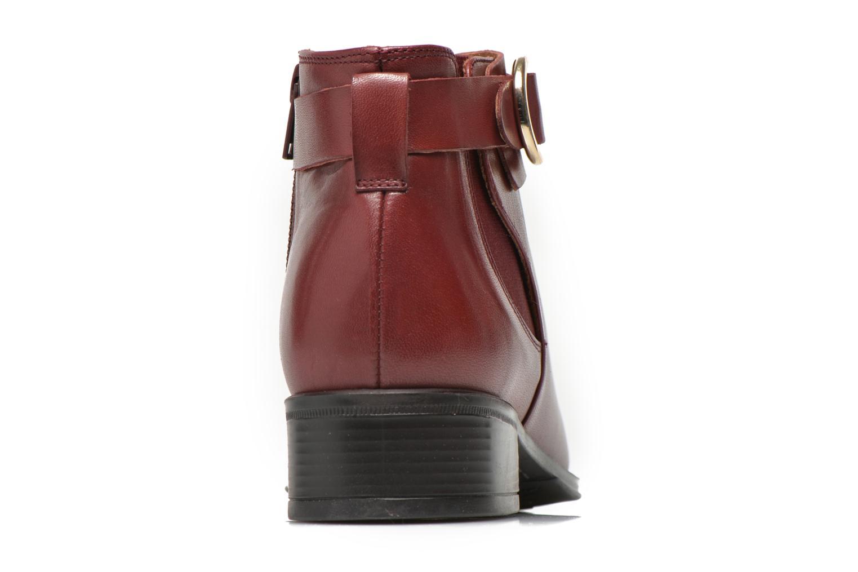 Bottines et boots Georgia Rose Eperdreau Bordeaux vue droite