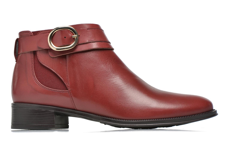Bottines et boots Georgia Rose Eperdreau Bordeaux vue derrière