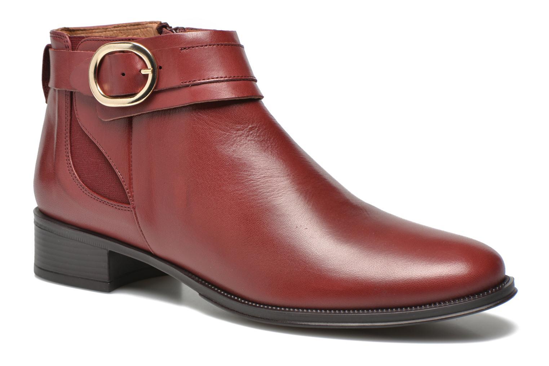 Bottines et boots Georgia Rose Eperdreau Bordeaux vue détail/paire