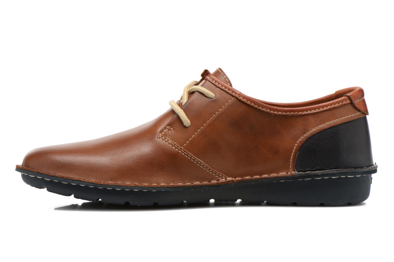 Chaussures à lacets Pikolinos Santiago M7B-4023 Marron vue face