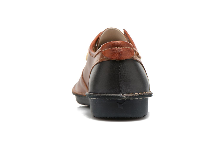 Chaussures à lacets Pikolinos Santiago M7B-4023 Marron vue droite