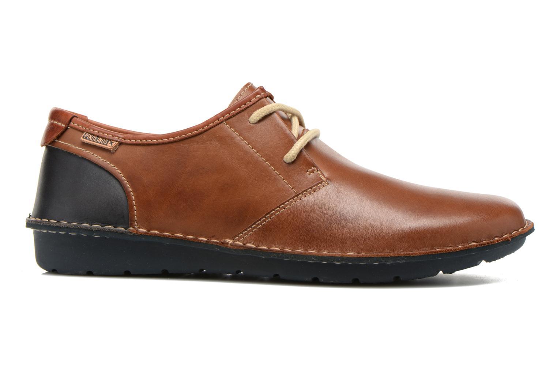 Chaussures à lacets Pikolinos Santiago M7B-4023 Marron vue derrière