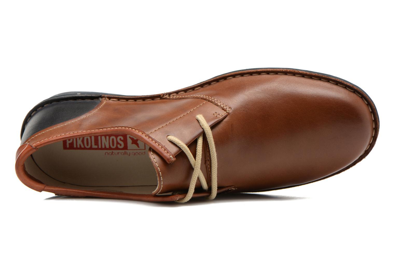 Chaussures à lacets Pikolinos Santiago M7B-4023 Marron vue gauche