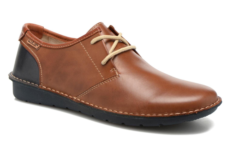 Chaussures à lacets Pikolinos Santiago M7B-4023 Marron vue détail/paire